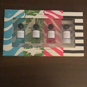 Kate Spade travel set fragrance collection